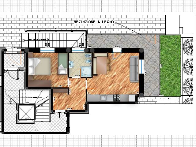 Appartamento Burz 4